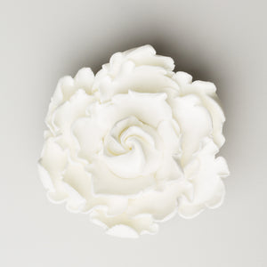 "3.5"" Closed Peony - Medium - White"