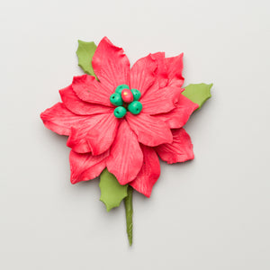 "3.5"" Poinsettia - Medium - Red"