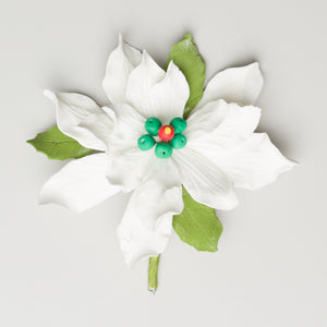 "3.5"" Poinsettia - Medium - White"