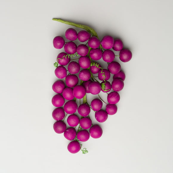 Grape Bunch - Burgundy