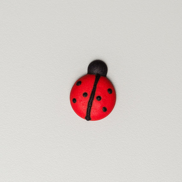 Royal Icing Ladybugs