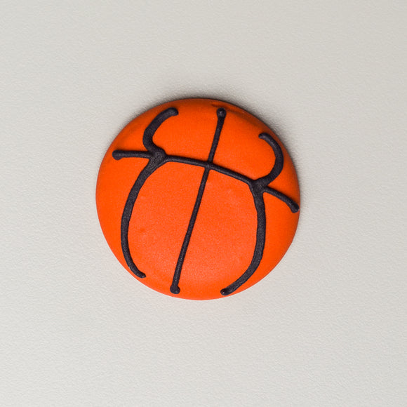 Royal Icing Basketballs
