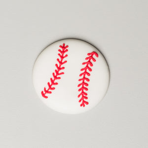 Royal Icing Baseballs