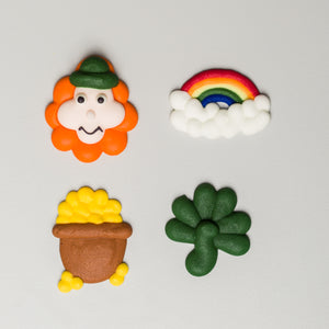"1.5"" St. Patrick's Day Assortment - Royal Icing (80 per box)"