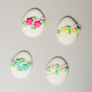 "1-1/2"" Royal Icing Easter Eggs - Medium"