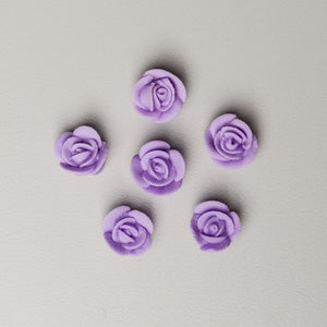 "1/2"" Mini Classic Royal Icing Rose - Lavender"