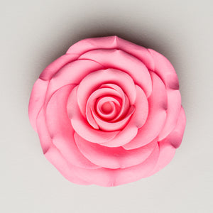 "2.5"" Sugar Rose - Pink (16 per box)"
