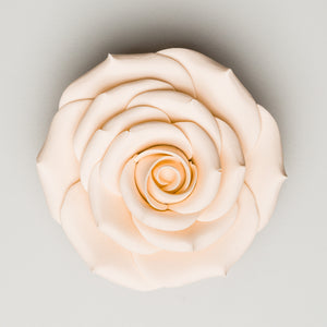 "3.5"" Sugar Rose - Ivory (9 per box)"