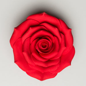 "3.5"" Sugar Rose - Red"