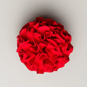 "2.5"" Carnation - Red (25 per box)"