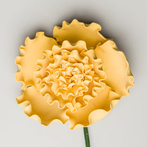 "2.5"" Carnation - Antique Yellow (12 per box)"