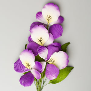 "10"" Wild Pansy - Purple"