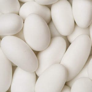 Smeraldina Sugar Coated Jordan Almonds (White)