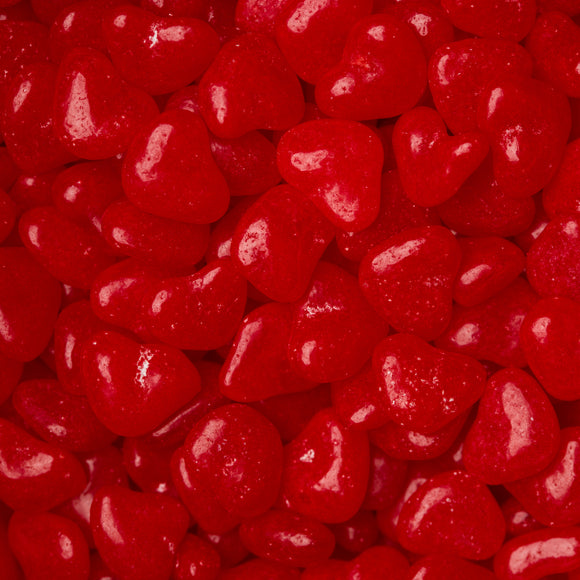 Red Cinnamon Hearts