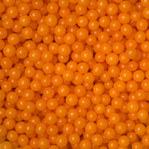 4mm Orange Dragees