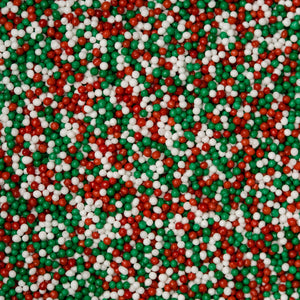 Christmas Mix Nonpareils