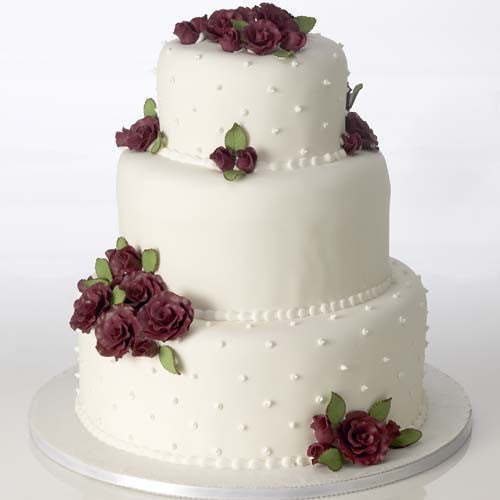Classic Rose, Burgundy, Cake Kit