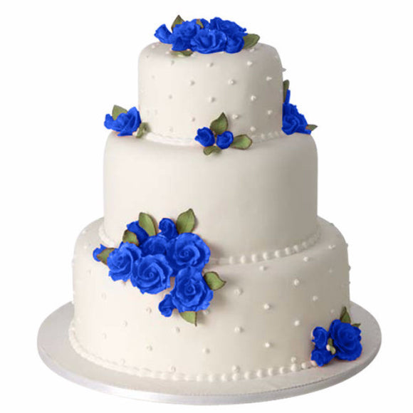 Classic Rose, Royal Blue, Cake Kit