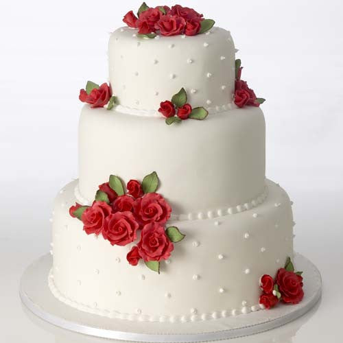 Classic Rose, Red, Cake Kit