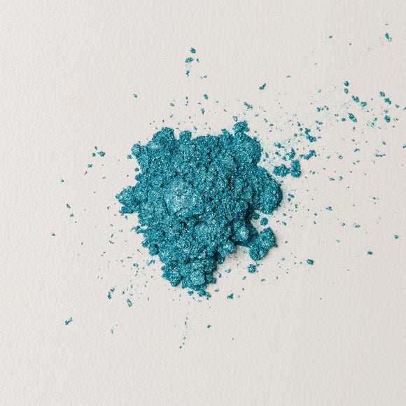 Teal Luster Dust (aka Ocean Green) (Edible)