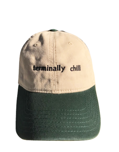 Terminally Chill Two Toned Green