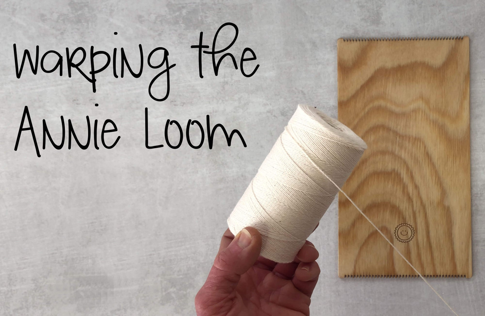 How to Warp the Annie Loom