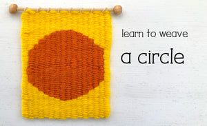 Learn to Weave a Circle on a Frame Loom