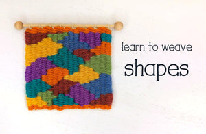 How to Weave Shapes on a Frame Loom