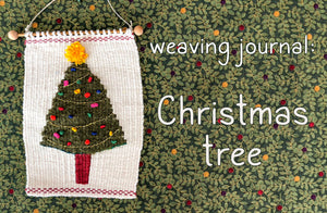 Weaving Journal - Christmas Tree