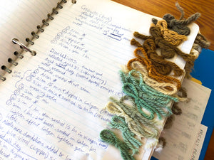 How to Dye Yarn with Coffee