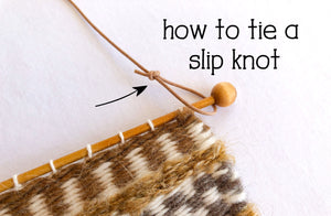 How to Tie a Slip Knot