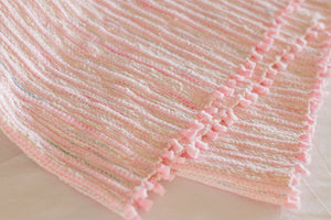 Weaving with Fleecy Fabric