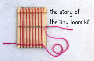Tiny Wooden Loom Kits
