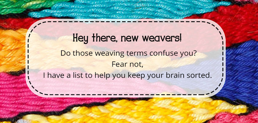 Free PDF weaving terms