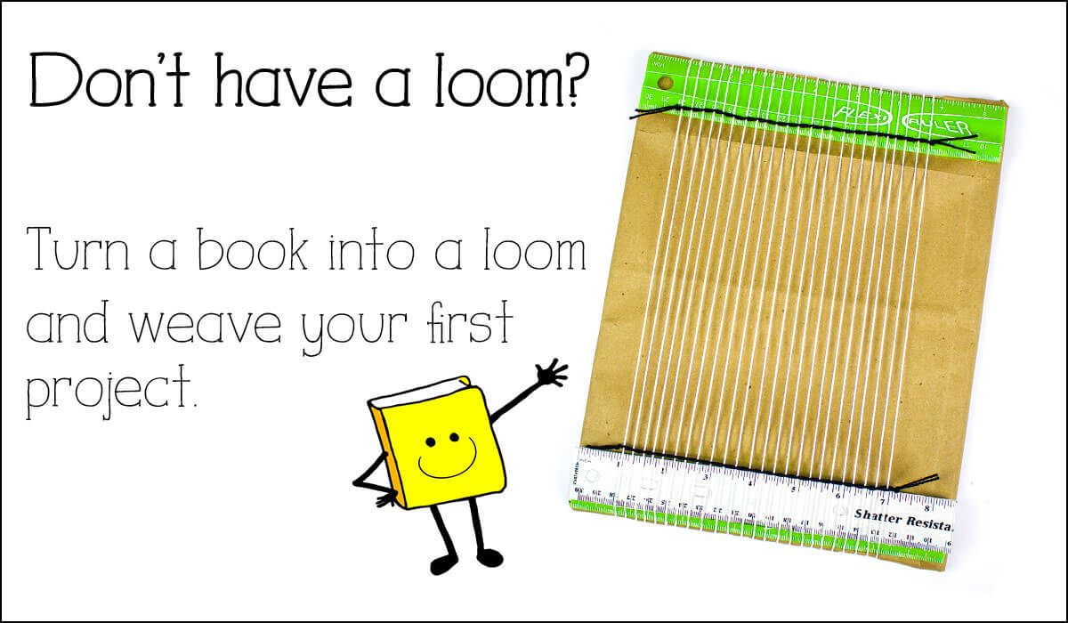 turn a book into a loom