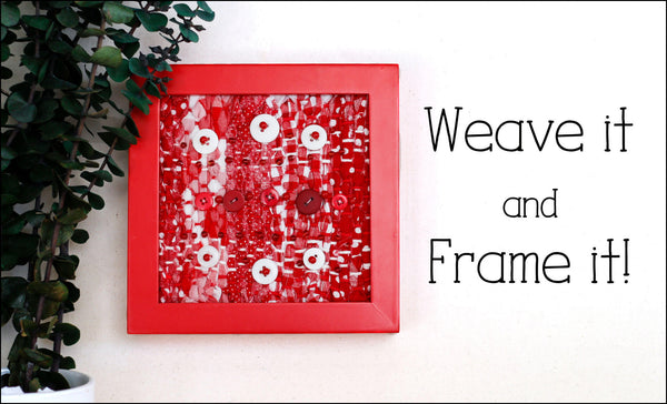 Frame your weaving course