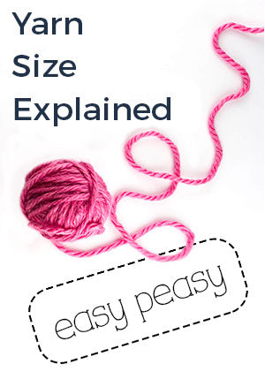 Understanding yarn sizes