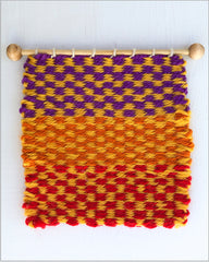 How to Weave a Checker pattern