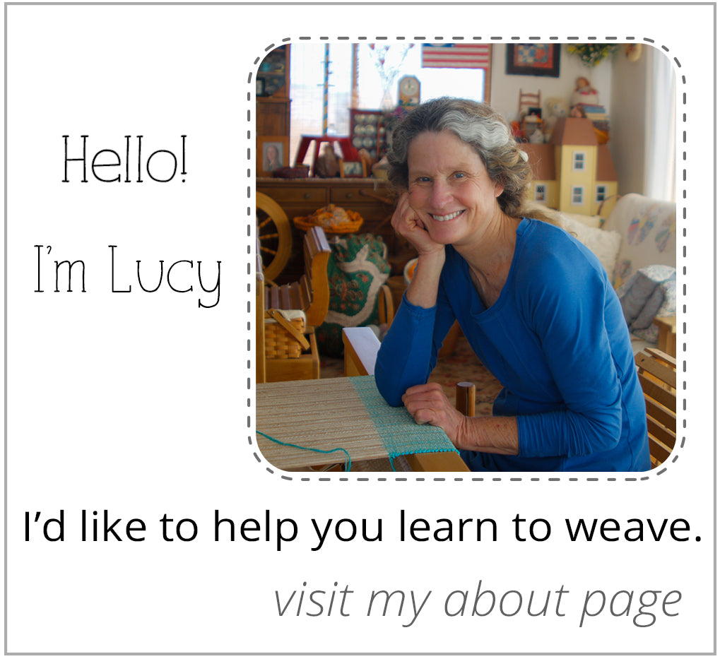 Lucy Jennings Weaving Teacher