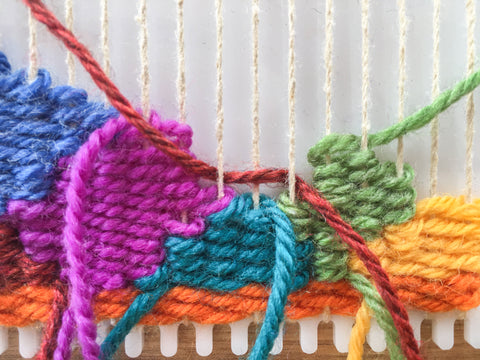 Learn to weave shapes.
