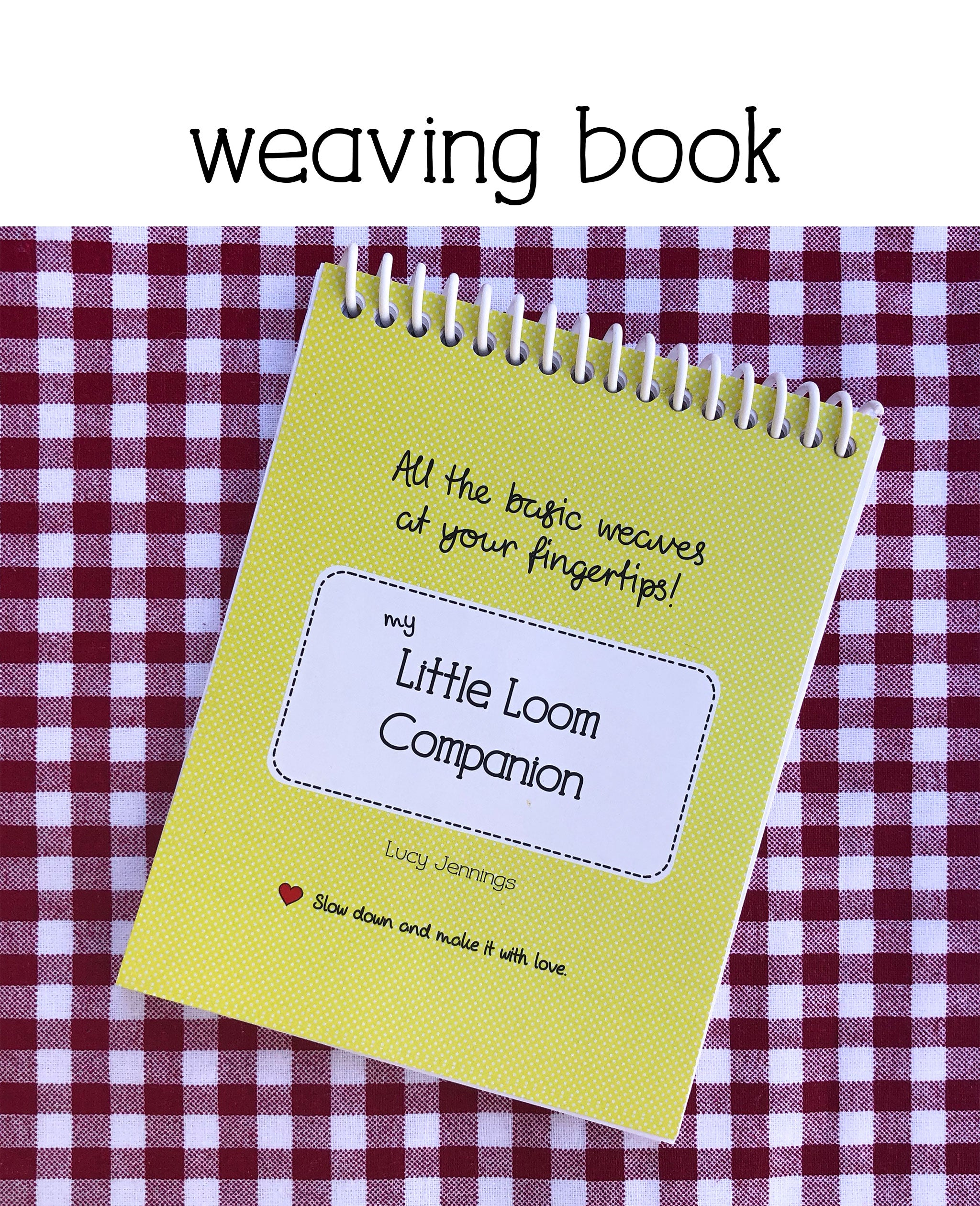 beginner weaving book