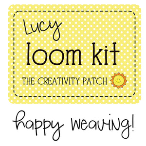 Lucy Loom - Weaving Kit - Festive