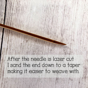 Wooden Weaving Needle