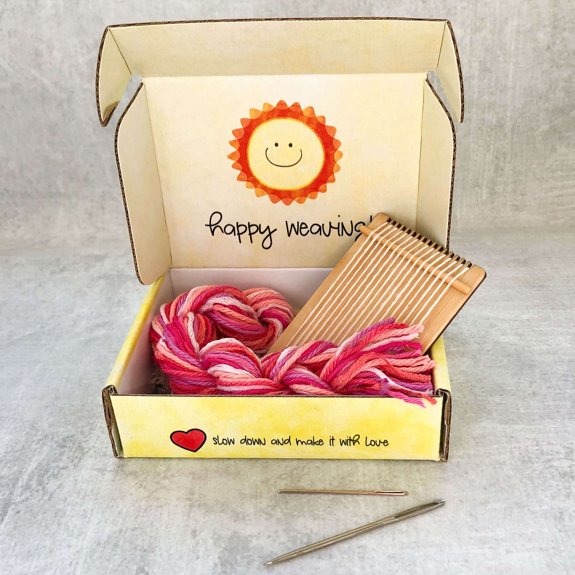 Tiny Loom Kit- Perfectly Pink