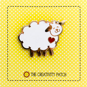 Enamel Pin - Sheep