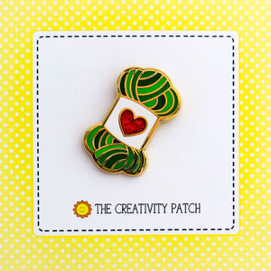 Enamel Pin - Yarn Skein