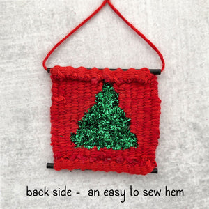 Tiny Loom - Christmas Tree Kit