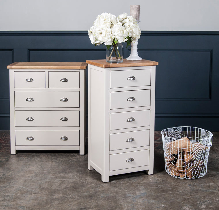 Portland Furniture Oak And Painted Bedroom Furniture Portland - Portland furniture
