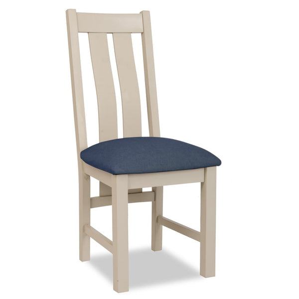 Portland Painted Dining Chair with Padded Seat