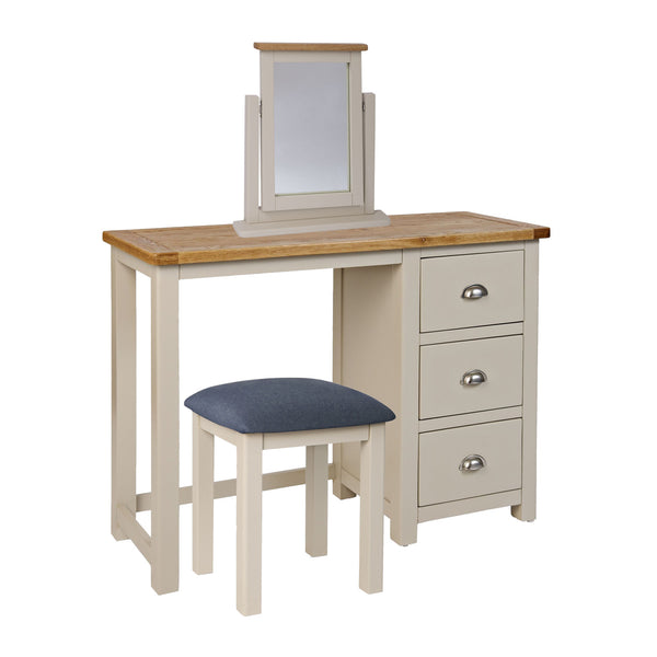 Portland Oak & White Painted Dressing Table Set Package